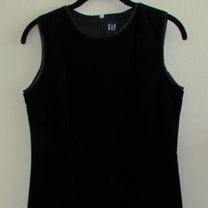 GAP Black Velvet Dress